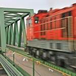 Уйпештcкий железнодорожный мост (ЗАО Хидепитё)
