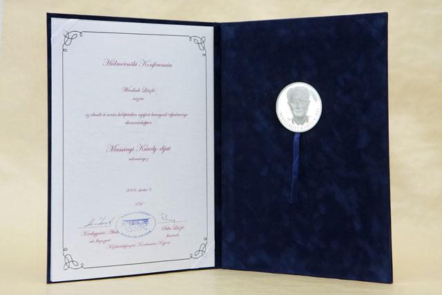 Massányi Károly-díj 2008